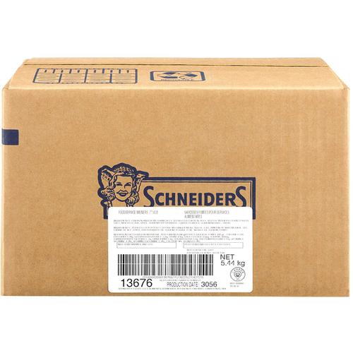 """Schneiders 7"""" Wieners Frozen 5kg"""