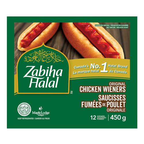 Zabiha Halal Chicken Wiener 12's