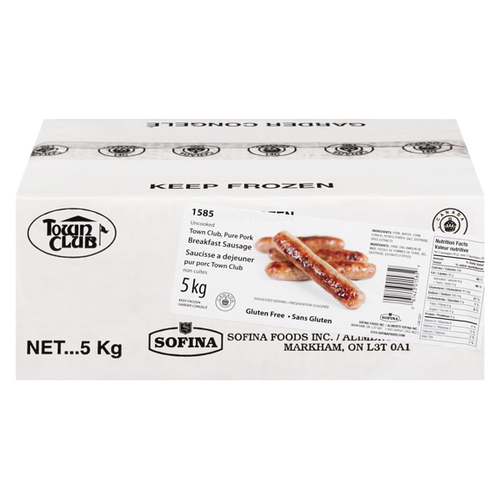 Pork Breakfast Sausage 5kg