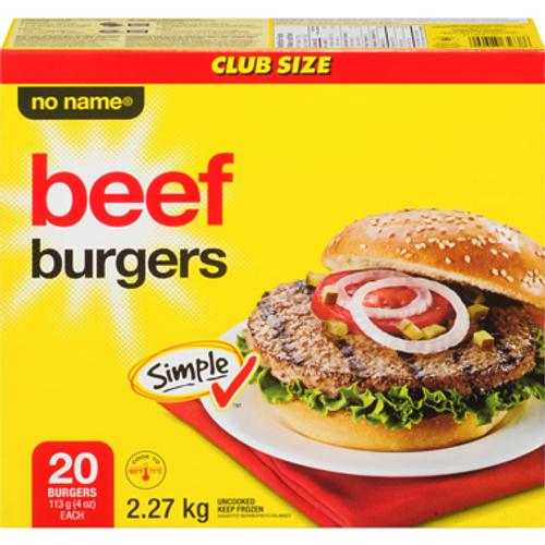 NN Beef Burger 20pcs