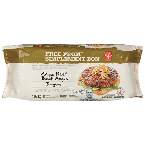 PC Free From Angus Beef Burger 8pcs