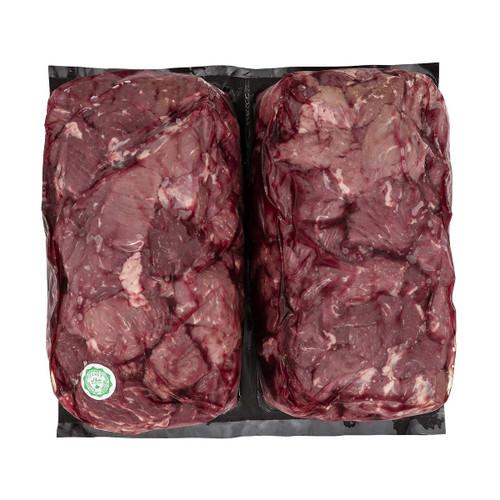 Fresh Canada AAA or Higher Stewing Beef Halal ~2.5kg /kg