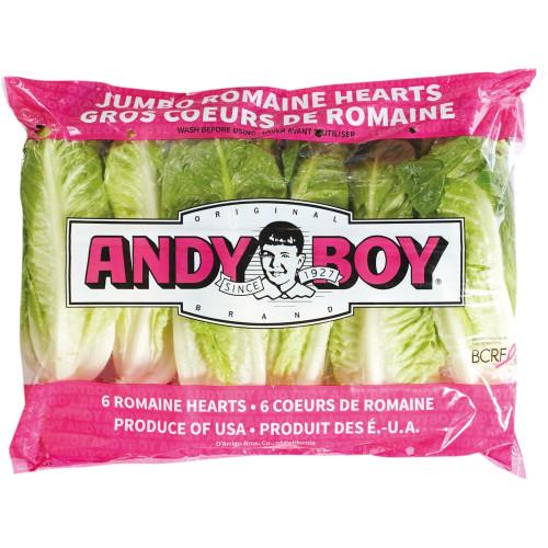 Romaine Heart Lettuce 6/pk