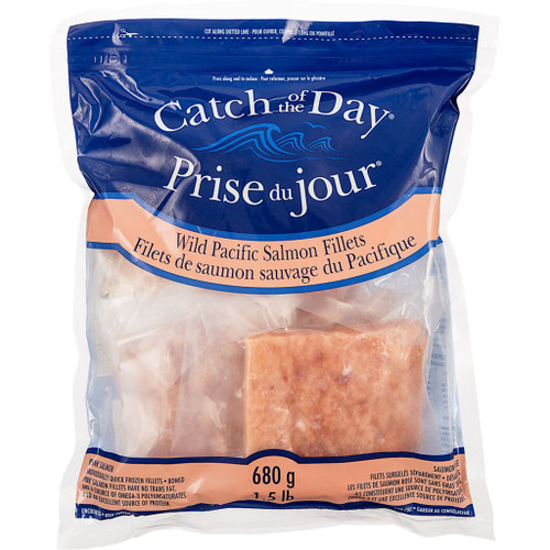 Catch Of The Day Salmon Fillets 680g