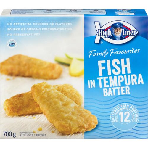 High Liner Fish In Tempura Batter, Family Pack 700g
