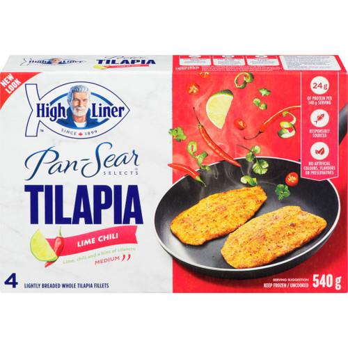 High Liner Pan Sear Selects Tilapia, Lime Chili 540g