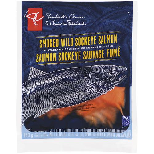 PC Smoked Sockeye Salmon 150g