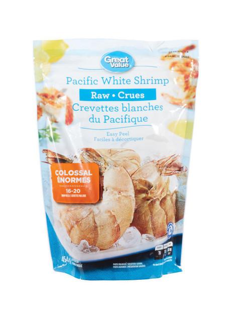 Raw Pacific White Shrimp 454g