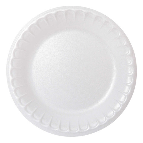 Pactiv 6-in Foam Plates 8 packs of 125