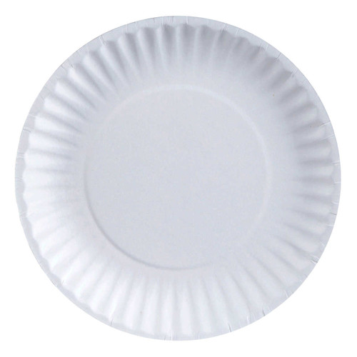 Green Label 6-in Pizza Paper Plate 12 packs of 100