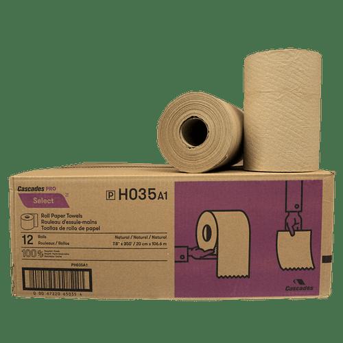 Hand Towel Rolls Kraft 425' 12Rolls