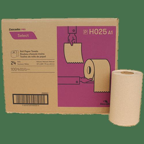 Hand Towel Rolls Kraft 205' 24Rolls