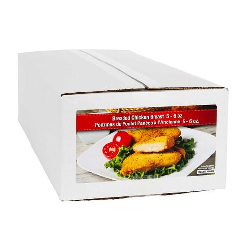 Golden Maple Breaded Frozen Chicken Breast Portions 2×2 kg