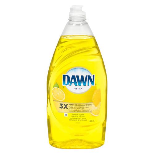 Dawn Ultra Antibacterial Hand Soap Dishwashing Liquid, Apple Blossom 532 mL