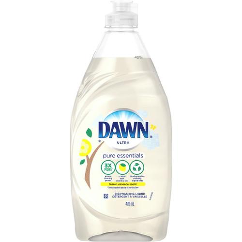 Dawn Dishwashing Liquid Dish Soap, Lemon Essence 479 mL