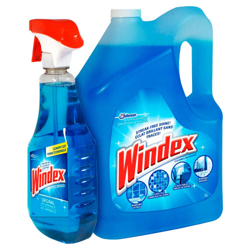 Windex Original Glass Cleaner5 L + 950 mL