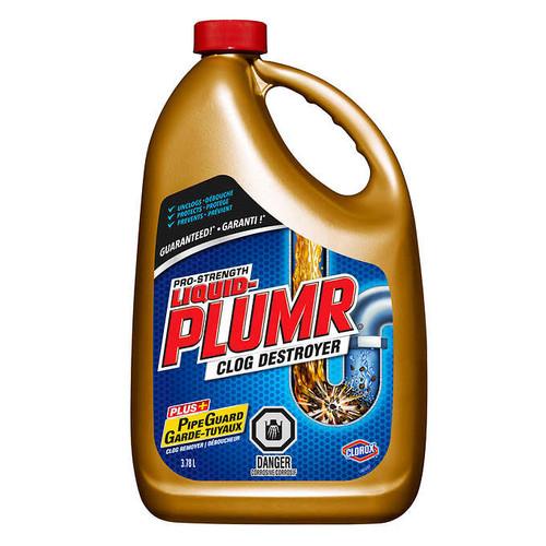 Liquid-Plumr Pro-strength Clog Remover3.78 L