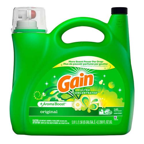 Gain Liquid Laundry Detergent146 wash loads