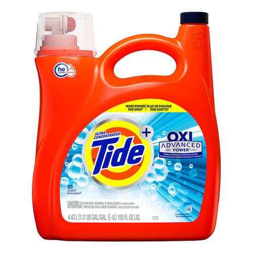 Tide OXI Advanced Power Liquid Laundry Detergent81 wash loads