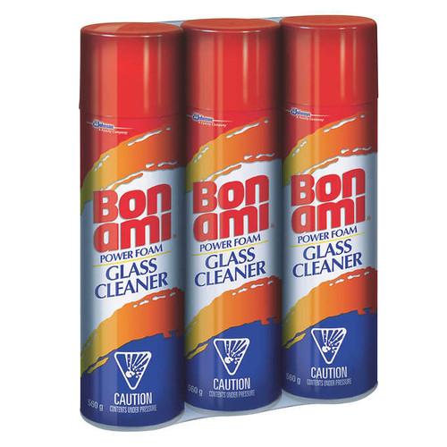 Bon Ami Power Foam Glass CleanerPack of 3