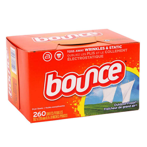 Bounce Dryer Sheets260 sheets