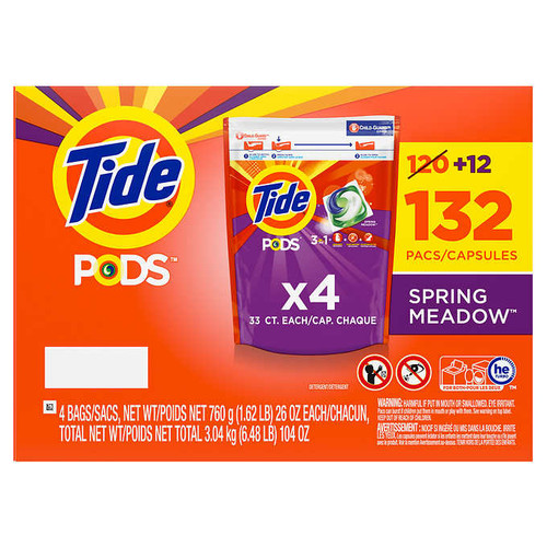 Tide Pods Laundry Detergent132 wash loads