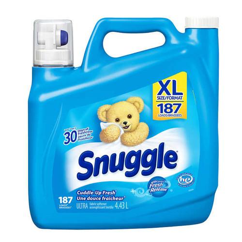 Snuggle Liquid Fabric Softener187 wash loads