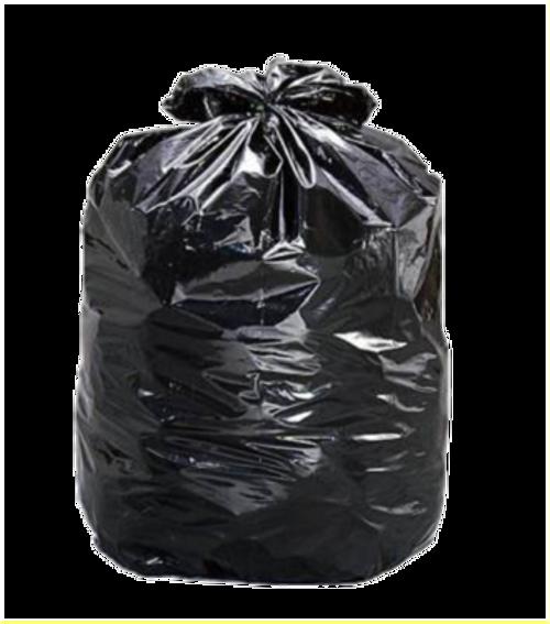 Garbage Bag Black 24x22 Regular Strength 500/cs