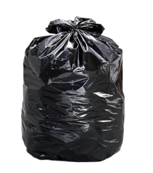 Garbage Bag Black 42x48 XStrong Strength 100/cs