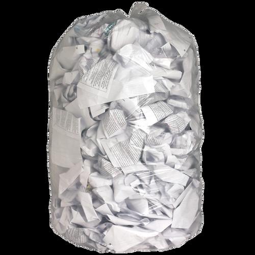 Garbage Bag Clear 24x22 Regular Strength 500/cs