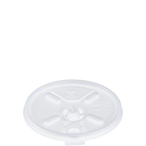Dart Plastic Flat Lids For 16-20oz Foam Cups 1000/cs