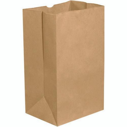 Paper Bag Plain Kraft 1lb 500/pk
