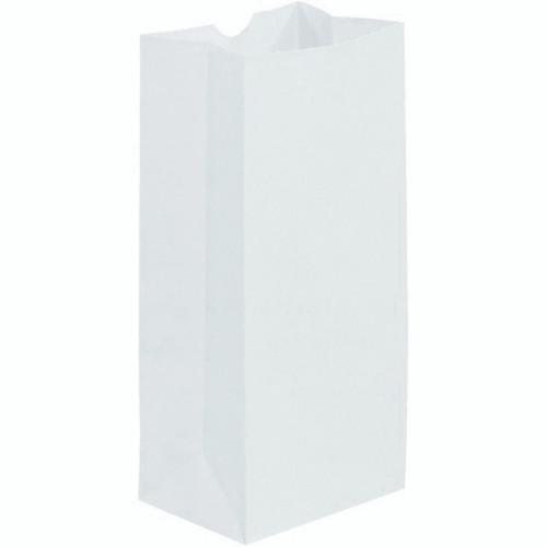 Paper Bag Plain White 5lb 500/pk