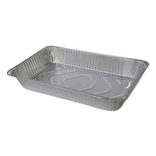 Aluminum Steam Table Pans, Full Size, Deep, 50/cs