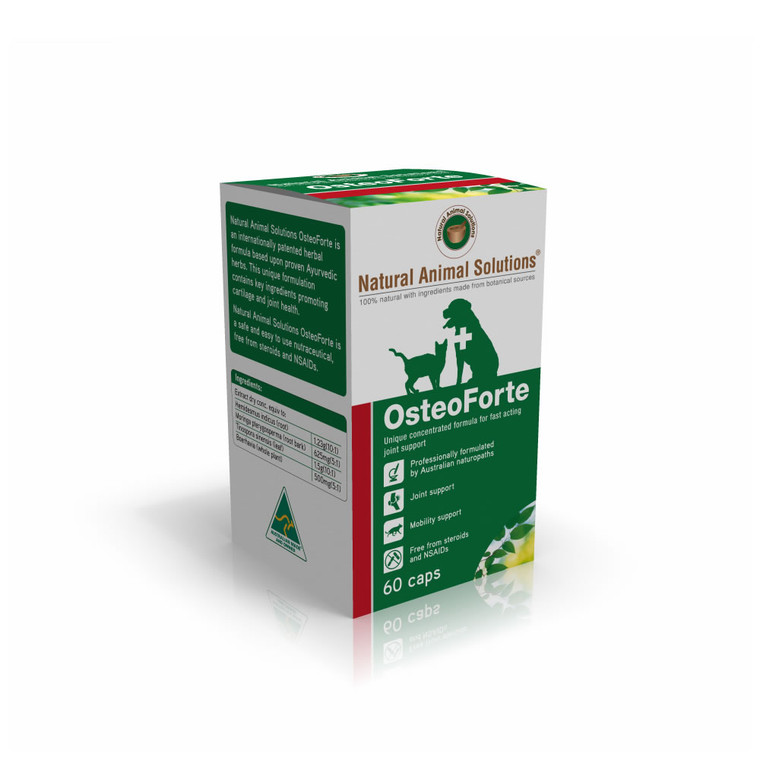 OsteoForte for Dogs & Cats - 60 caps