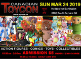 Canadian Toycon - March 23, 2019