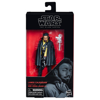 Star Wars The Black Series Lando Calrissian 6-Inch Action Figure #65
