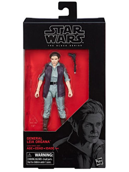 Star Wars The Black Series General Leia Organa 6-Inch Action Figure #52