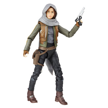 Star Wars The Black Series Sergeant Jyn Erso 6-Inch Action Figure #22