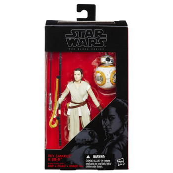 Star Wars The Black Series Rey & BB-8 6-Inch Action Figure #02