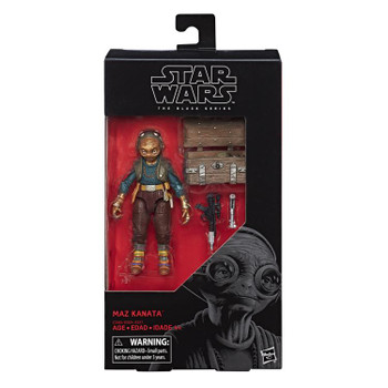 Star Wars The Black Series Maz Kanata 6-Inch Action Figure #51