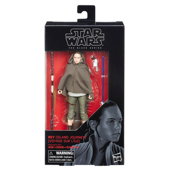 Star Wars The Black Series Rey (Island Journey) 6-Inch Action Figure #58