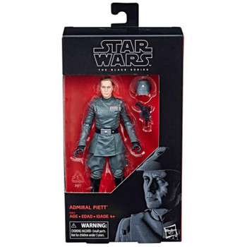 Star Wars The Black Series Admiral Piett 6-Inch Action Figure #00