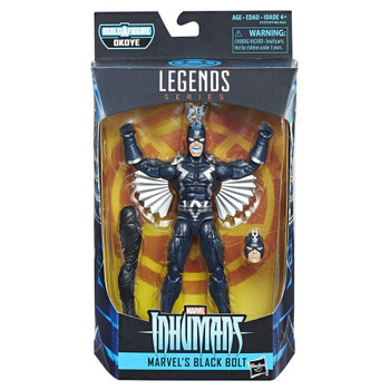 Black Panther Marvel Legends 6-Inch Black Bolt Action Figure