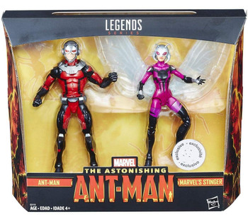 Marvel Legends Series 6-inch Ant-Man and Stinger Action Figures 2Pk - TRU Exclusive