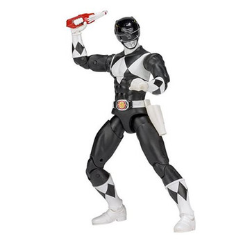Mighty Morphin Power Rangers Legacy Black Ranger Figure