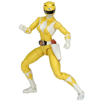 Mighty Morphin Power Rangers Legacy Yellow Ranger Figure