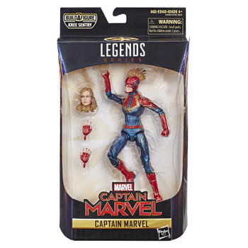 Captain Marvel Marvel Legends 6-Inch Action Figure