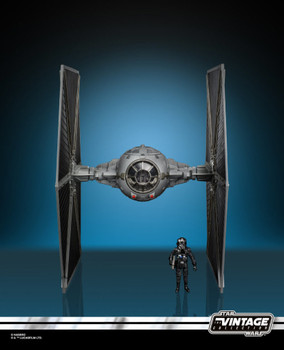 Star Wars The Vintage Collection Imperial TIE Fighter w/ TIE Fighter Pilot Action Figure
