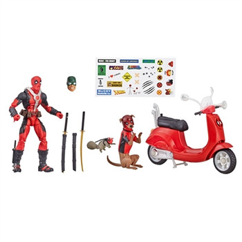 Marvel Legends Deadpool Ultimate Action Figures with Vehicle